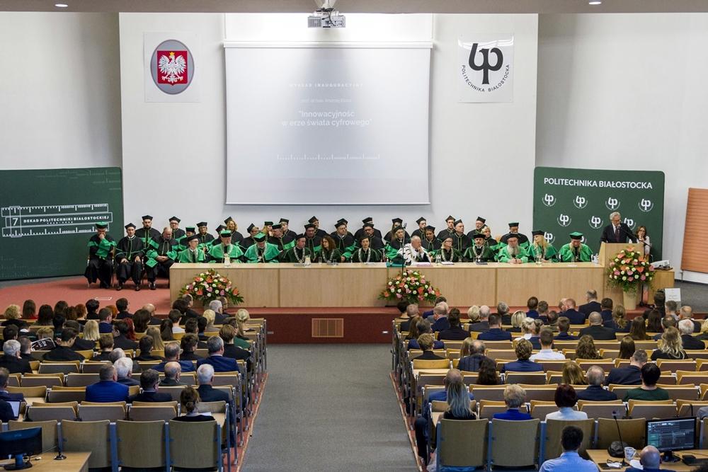 Inauguracja roku akademickiego Politechnika Białostocka
