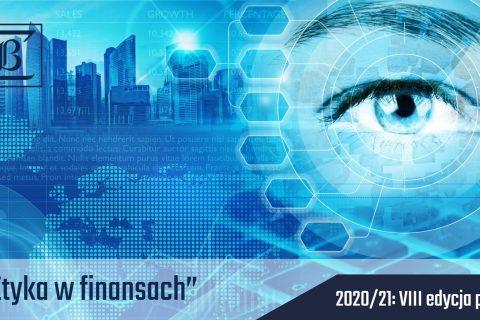 Jasno niebieskie tło, na górze z lewej widok wierzowców miasta, z prawej oko ludzkie, na dole tekst informujący o nazwie i terminie wydarzenia