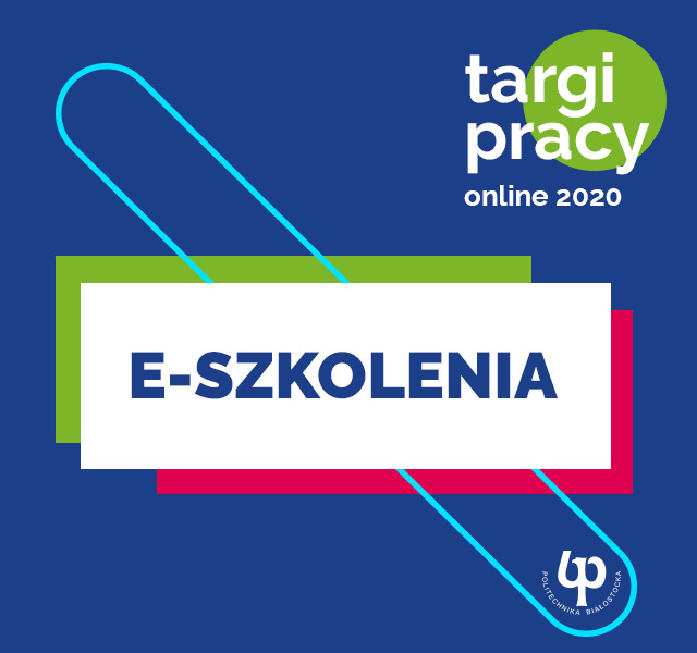 Targi pracy on-line 2020 PB - E-szkolenia