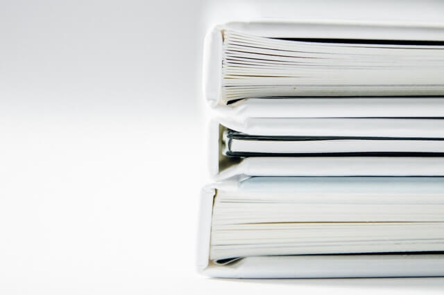 teczki z dokumentami