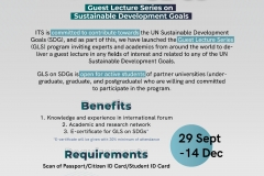 Poster GLS on SDGs - general information