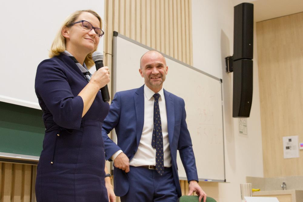 Joanna Ejdys i Piotr Cieszewski