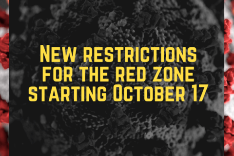 New restrictions from October 17