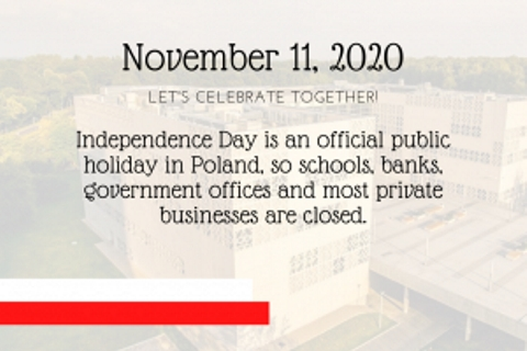 November 11 – Independence Day in Poland