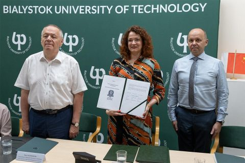 Bialystok University of Technology will educate Chinese engineers