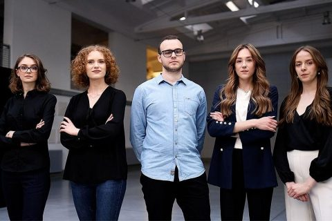 A team of students from the Faculty of Architecture at Bialystok University of Technology