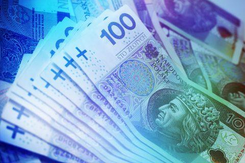 grafika przedstawiająca pieniądze