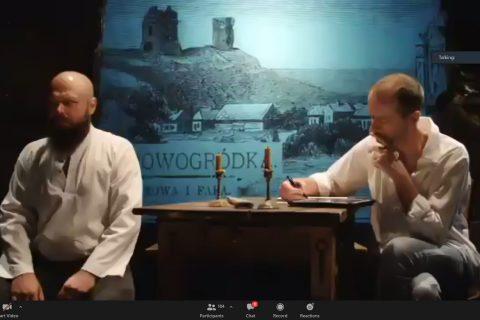 Aktorzy Teatru Wierszalin