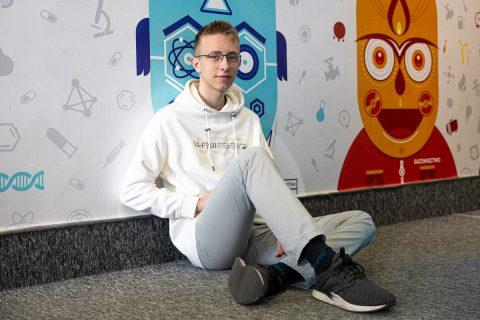 Zwycięzca Niesamowitej Maszyny PB z 2020 roku Tomasz Tumiel