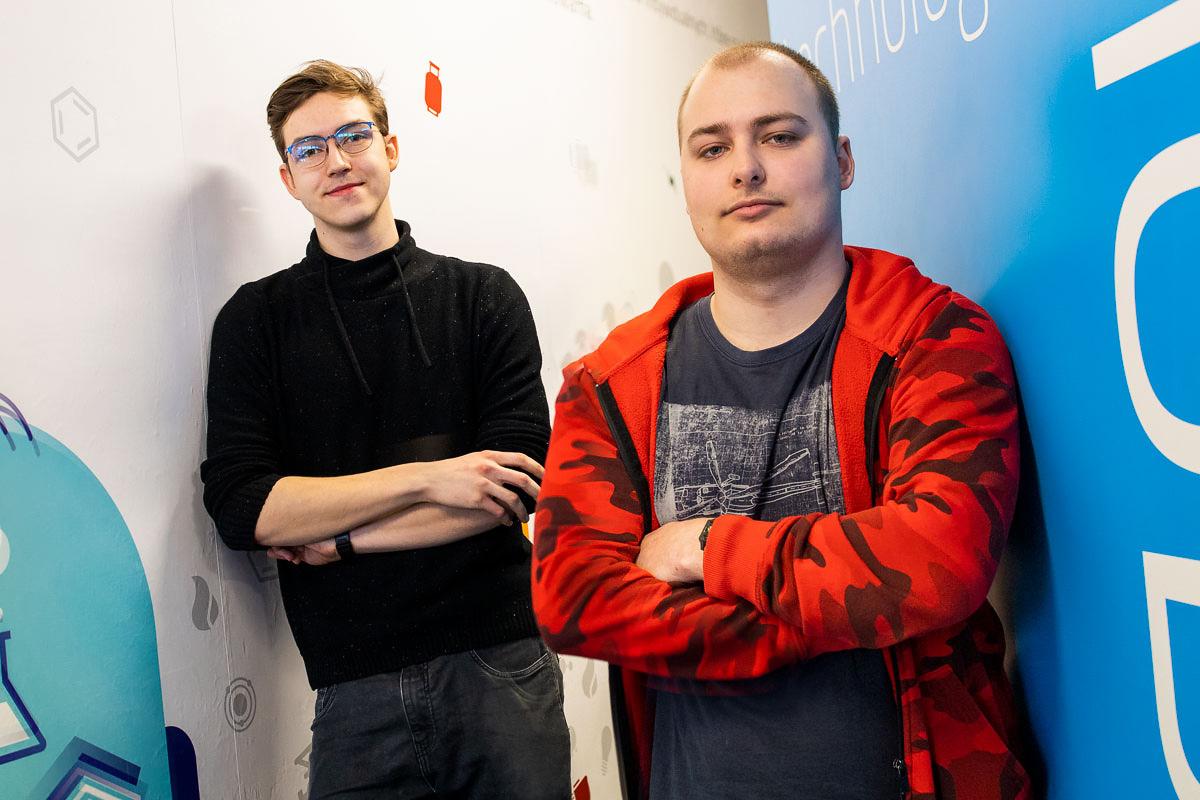 Konrad Hryniewicki i Jakub Tymiński