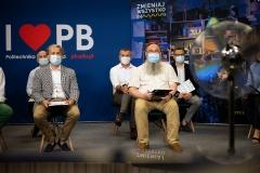 Finał 4. edycji konkursu Politechniki Białostockiej – Niesamowita Maszyna 22 czerwca 2021 r., fot. P. Jankowski