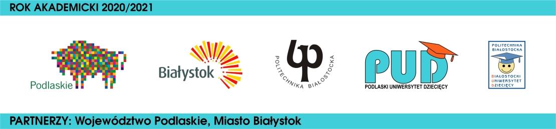 Rok akademicki 2020/2021, partnerzy województwo podlaskie, miasto Białystok