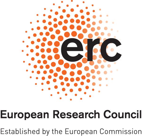 Logo Europejskiej Rady ds. Badań