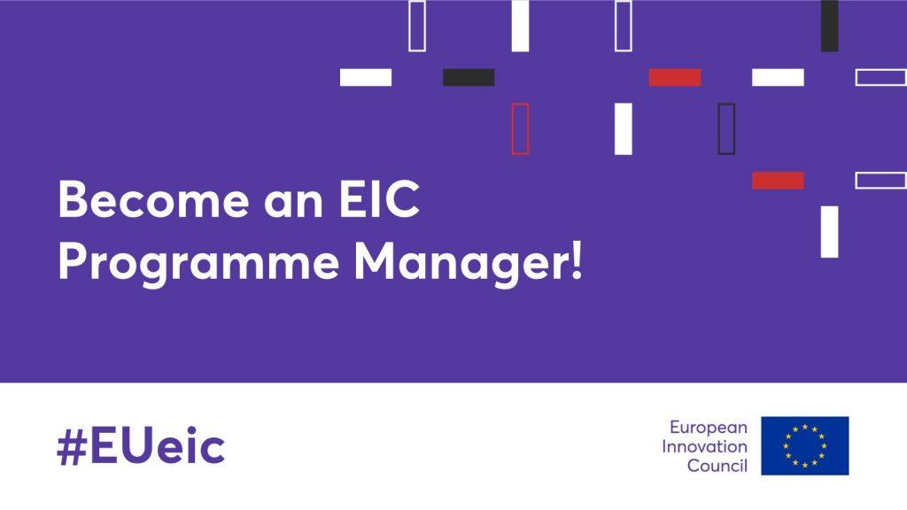 Zaproszenie aby zostać menedżerem programu EIC