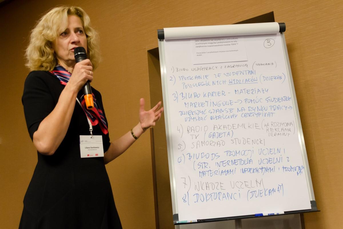 """Pracownicy SJO na konferencji """"Kapitał językowy wyznacznikiem sukcesu na współczesnym rynku pracy"""""""