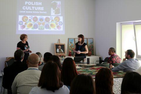 """Halina Bramska i Alina Jabłońska Domurat prowadzą warsztaty """"Polish Culture and Language Workshop"""""""