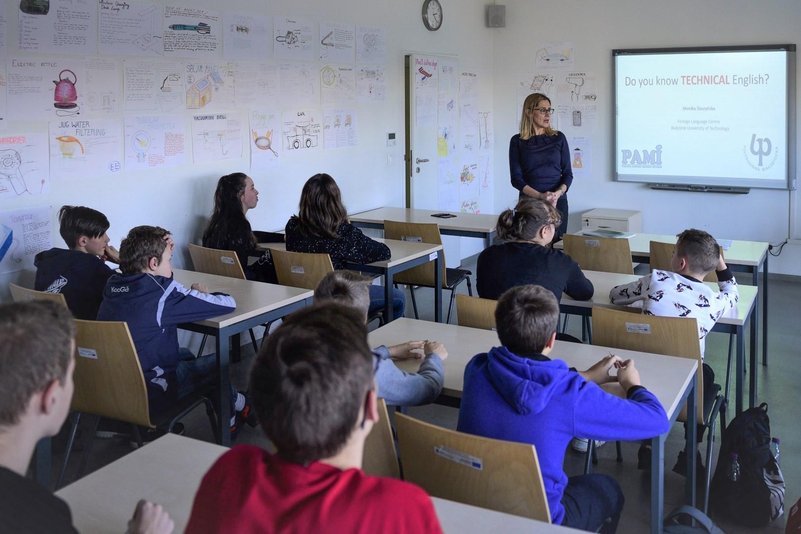 Podlaska Akademia Młodego Inżyniera - prowadząca i uczestnicy