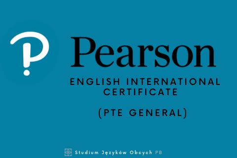 Pearson English International Certificate