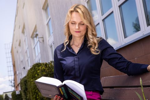 dr hab. inż. Katarzyna Halicka, prof. PB, Dziekan Wydziału Inżynierii Zarządzania