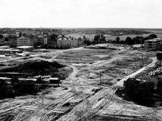 Teren budowy 1971 r.