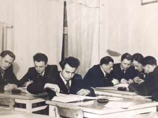 studenci lata 50