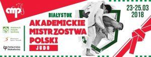 baner Akademickich Mistrzostw Polski w Judo