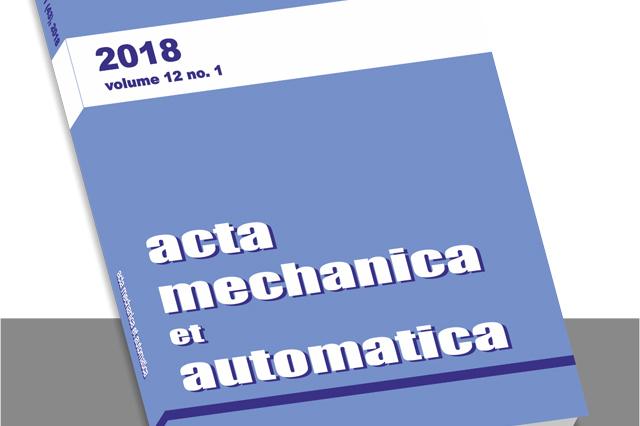 """""""Acta Mechanica et Automatica"""""""