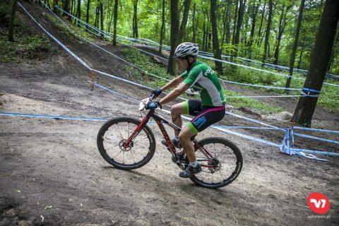 zawodnik kolarstwa górskiego
