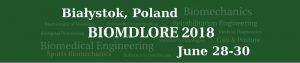 grafika konferencji Biomdlore 2018