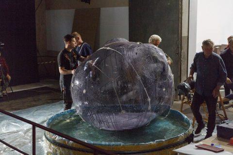 Zdjęcie instalacji Zbigniewa Oksiuty