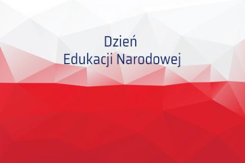 baner z okazji Dnia Edukacji Narodowej