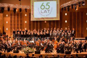 sala koncertowa Filharmonii podczas koncertu jubileuszowego PB