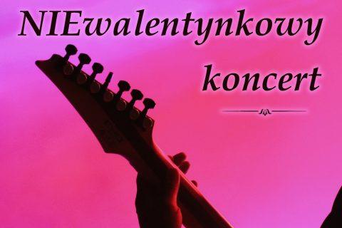 plakat mini koncertu uczniów LO PB