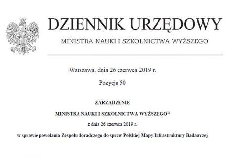 strona tytułowa Dziennika Urzędowego