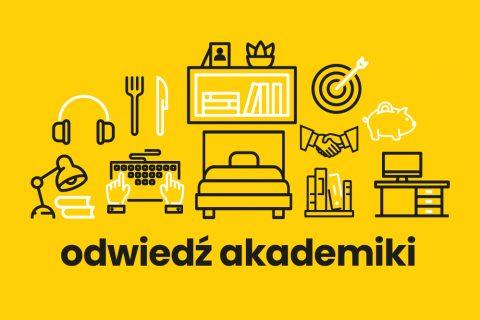 Grafika akcji dni otwarte w Akademikach