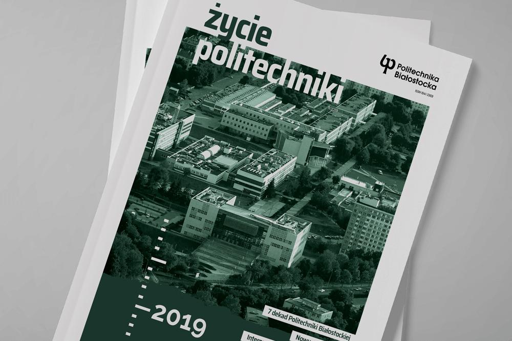 zdjęcie okładki pisma uczelnianego Życie Politechniki 1/2019