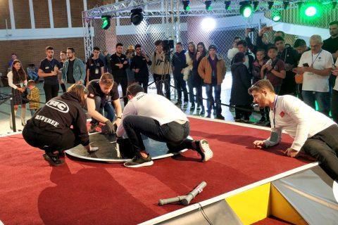 Sumomasters na zawodach RobotChallenge 2019 w Rumunii