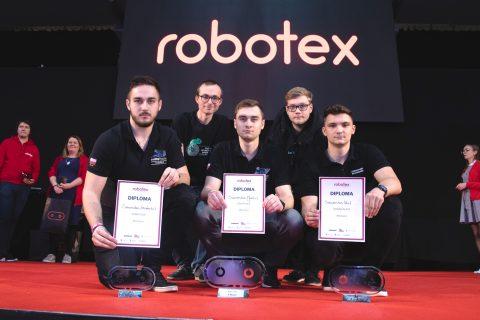 SumoMasters na zawodach Robotex w Estonii
