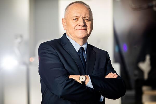 Rektor PB prof. dr hab. inż. Lech Dzienis