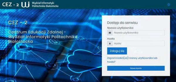 platforma Wydziału Informatyki PB