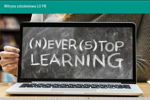 screen witryny e-leaningowej lopb