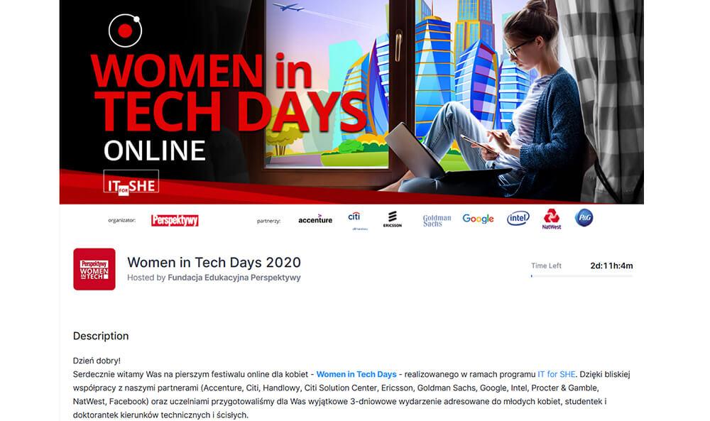 Women in Tech Days