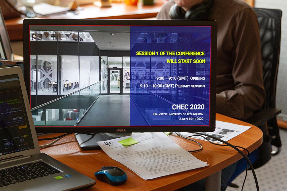 Monitor konferencji online CHEC 2020