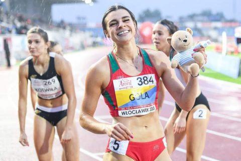Marlena Gola obroniła tytuł mistrzyni w biegu na 200 metrów