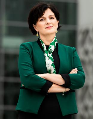 Prorektor ds. Kształcenia dr hab. Agnieszka Dardzińska-Głębocka, prof. PB