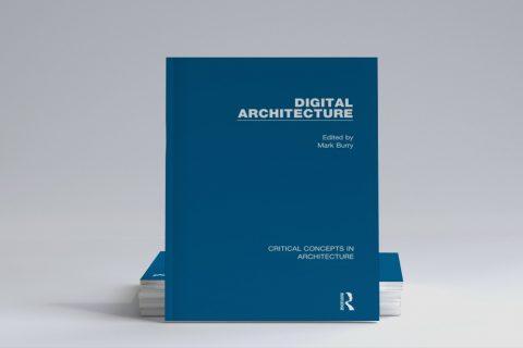 """Grafika ilustracyjna. Okładka książki """"Digital Architecture"""""""