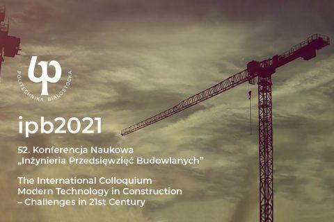 grafika ilustracyjna. Zaproszenie na konferencję IPB2021