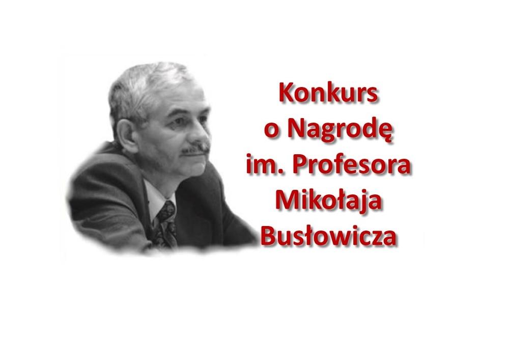 Konkurs o nagrodę prof Busłowicz