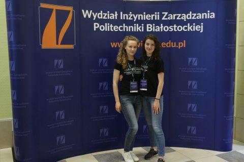 Julia Dąbrowska i Agnieszka Pruszyńska