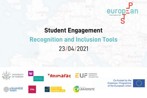 Logo Student Engagement - Recognition and Inclusion Tools
